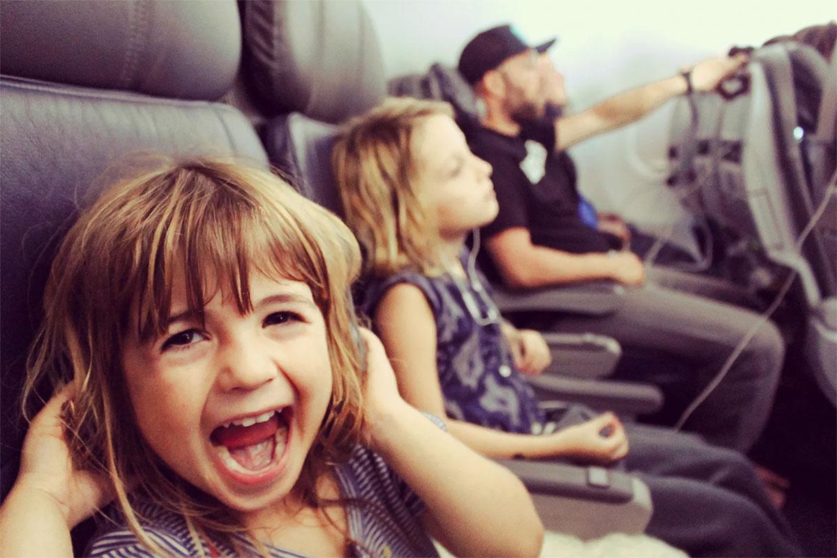 Dor de ouvido no avião